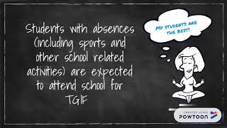 SHS - What is TGIF?