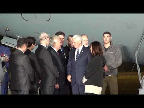 Vice President Pence arrives in Israel