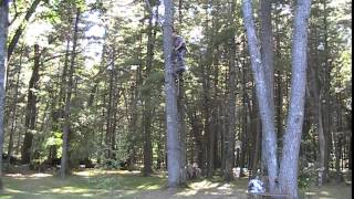Super Fast Way To Hang A Tree Stand