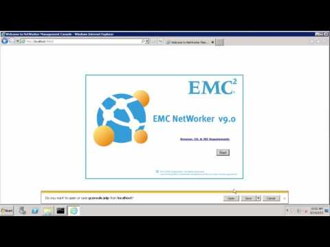 EMC Networker 9  - Upgrade and Migration