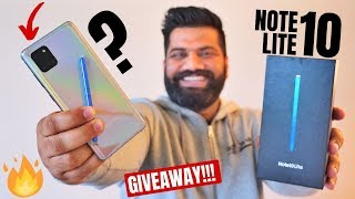 Samsung Galaxy Note 10 Lite Unboxing & First Look - Heavy Features Lite Price??? GIVEAWAY