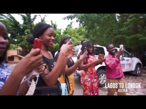 Why Mr. EAZI is so GREAT #LagosToLondon Radio Tour in Accra-Ghana