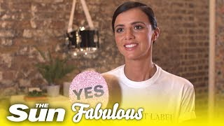 Lucy Mecklenburgh plays Have You Ever