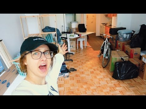 I MOVED - NYC Apartment Tour! *OLD & NEW PLACE*