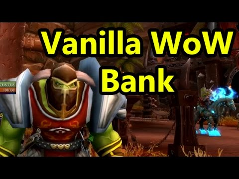 Nostalgia: What's In My Vanilla WoW Character's Bank