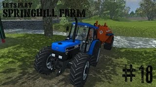 Farming Simulator 2013 - Springhill Farm - Ep 18(A lets play on the spring hill map for farming simulator 2013 This map is by ni modding and is an Irish based map with cow and silage in mind., 2013-12-28T18:45:03.000Z)