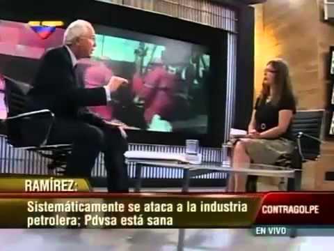 Extractos de entrevista deVanessa Davies a Rafael Ramirez en VTV acerca de PDVSA