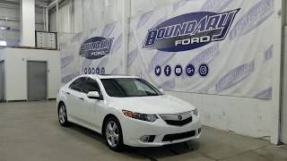 Pre-owned 2012 Acura TSX W/ 2.4L, Leather Overview | Boundary Ford