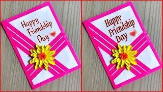 Friendship day card for best friend / friendship day card idea / DIY friendship day card