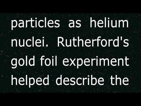 Ernest Rutherford - Oliver, Jay Cristian