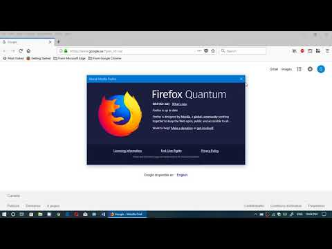 Quick Look At The News Firefox 60 Web Browser May 10th 2018