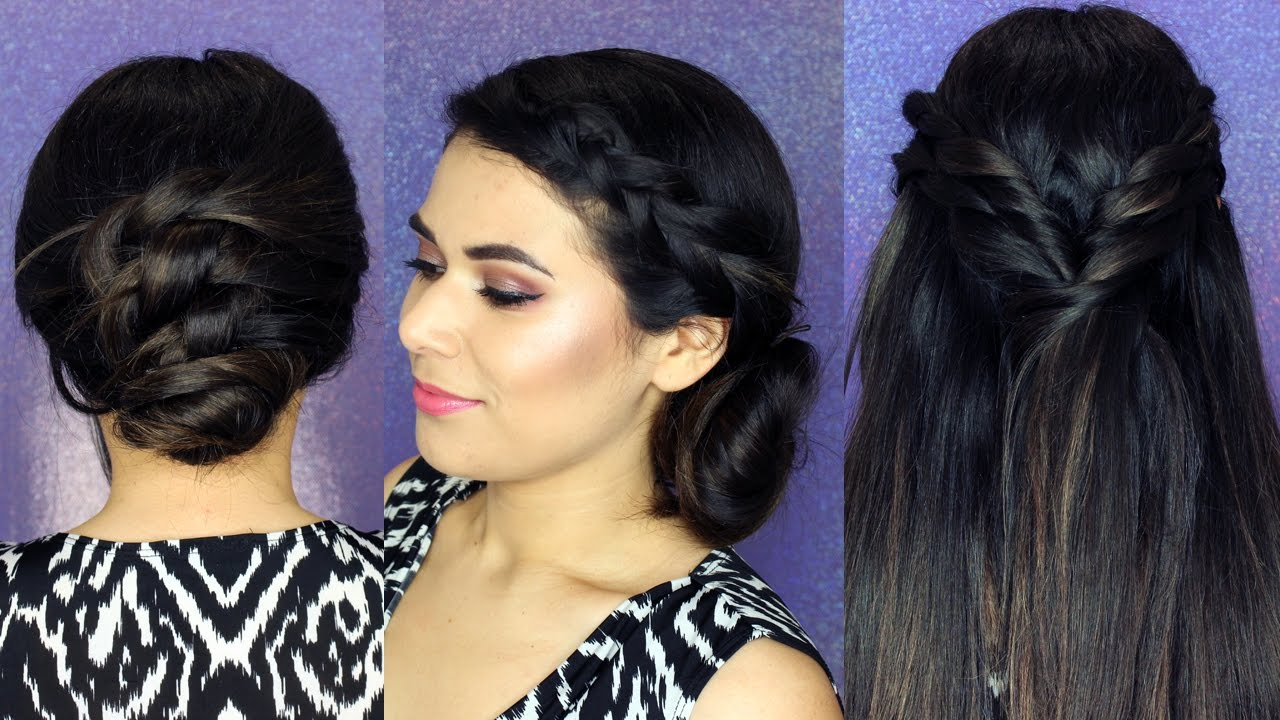 3 EASY SUMMER HAIRSTYLES for Thick & Textured Hair - YouTube