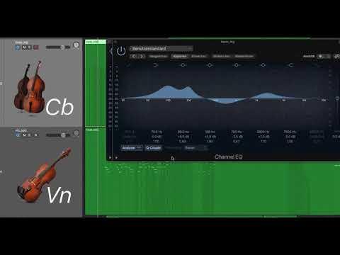 Anleitung EQ-Einstellungen | © Animation Neil Raouf Orchestrales Musikstück mit Laptop machen