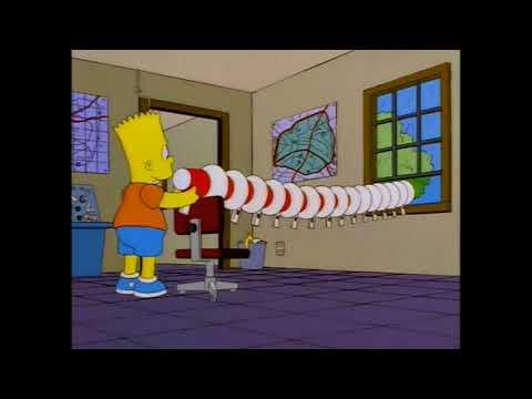bart megaphone gotta sweep sweep sweep