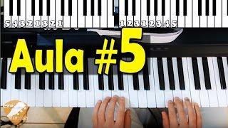 Baixar Aula de Teclado 05 - Sustenido e Bemol no Piano, na prática (para iniciantes)