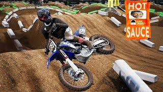 Some multiplayer Action - monster energy supercross the game