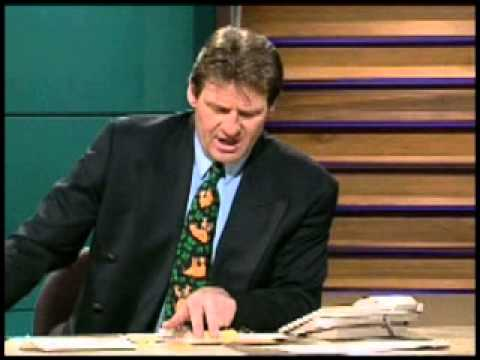 The Footy Show AFL (1997) - Sam responds to an abusive letter from a girl