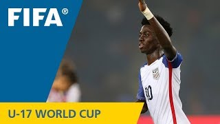 TOP GOALS: Tim Weah (USA) v Paraguay - FIFA U-17 World Cup 2017
