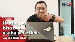 Review laptop gaming ASUS ROG Strix Scar II, harganya bisa buat usaha pecel lele