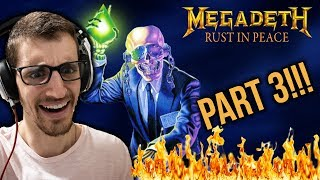 Hip-Hop Head's FULL ALBUM REACTION to RUST IN PEACE by MEGADETH (Part 3)