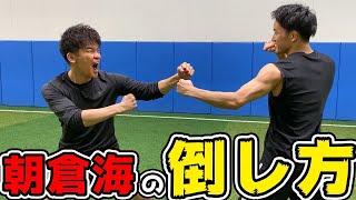 朝倉海の人間の倒し方!!|武井壮百獣の王国