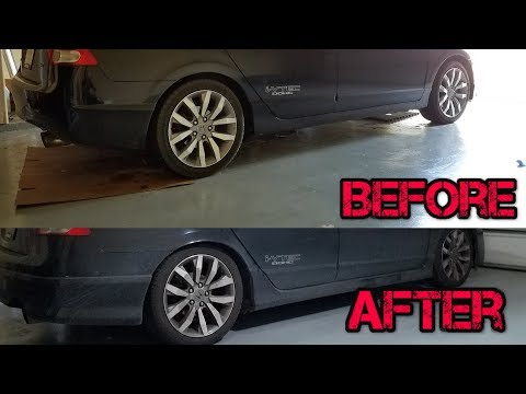 How To Install Eibach Pro Springs & Koni Shocks 8th Gen Honda Civic Si FA5