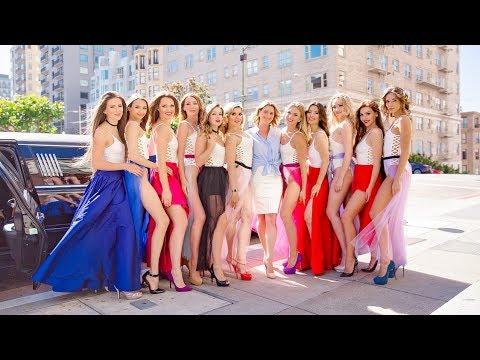 Конкурс красоты в Сан-Франциско. Miss Russian San Francisco