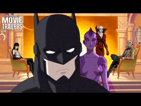 Batman calls on Constantine in first Justice League Dark trailer