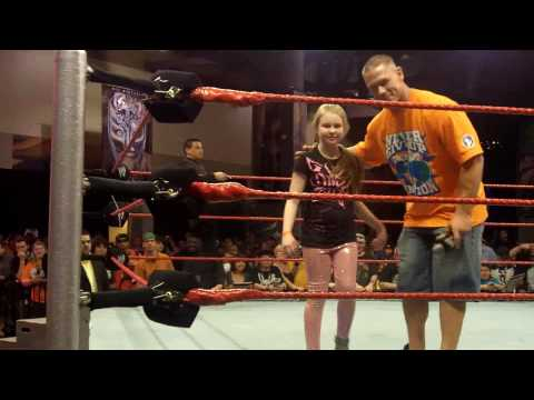 John Cena invites his Number 1 Fan into the ring at Wrestlemania XXVI Fan Axxess