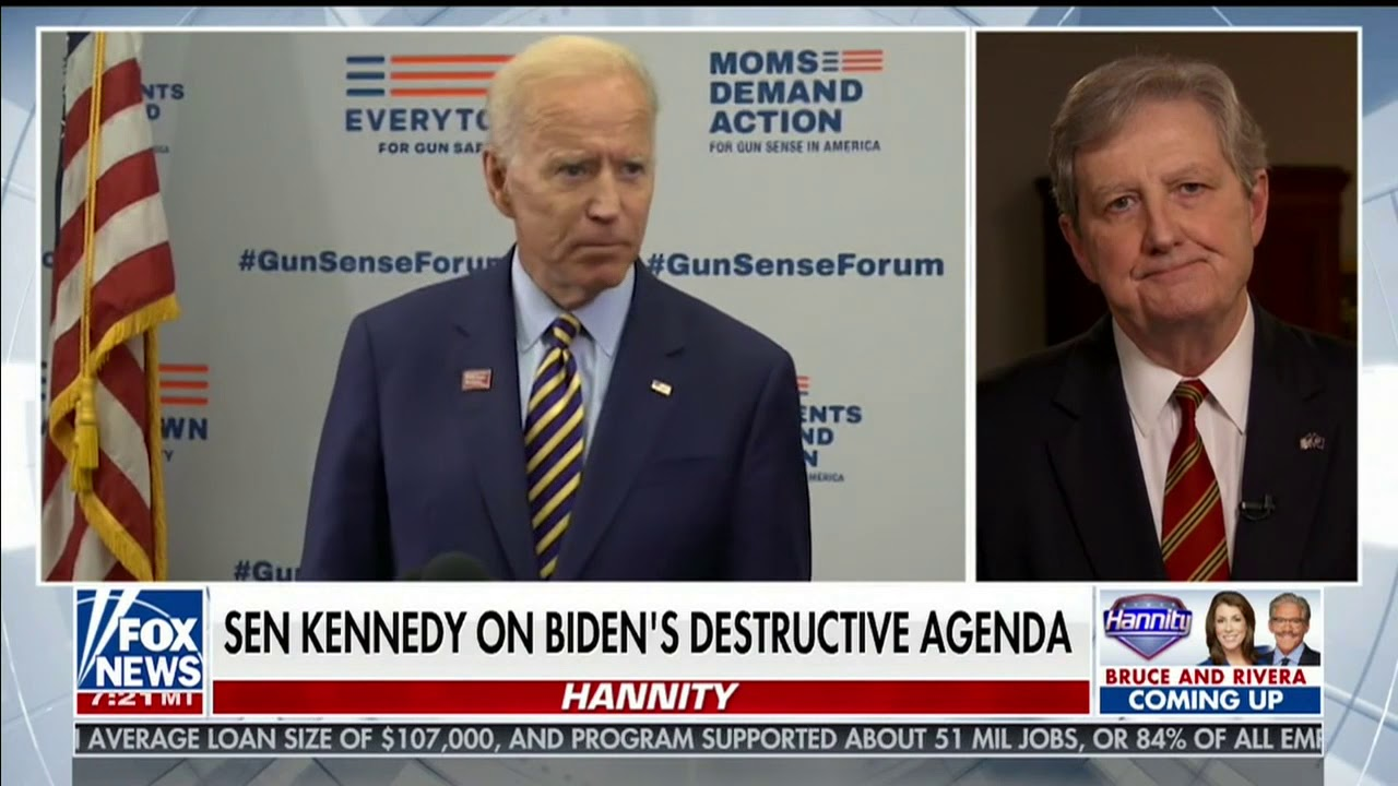 07 06 20 Kennedy talks failed Biden policy with Fox News's Sean Hannity