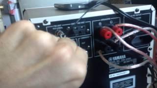 YAMAHA CRX-E150 CRX-E300 (задняя часть)