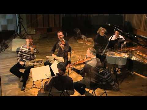 Иоганнес Брамс Квинтет F Moll ,1 часть  Василий Щербаков и Загребский Квартет Новосибирск октябрь 20
