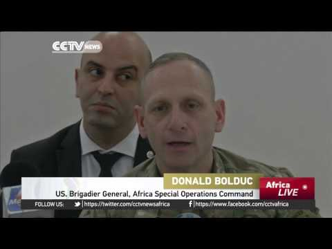 US & African troops gather for training programme