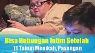 Bisa Hubungan Intim Setelah 11 Tahun Menikah, Pasangan Suami Istri Obesitas Ini Ungkapkan Rasanya