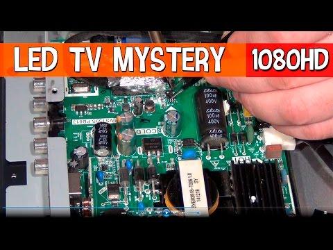 Ремонтируем LED телевизор #Mystery I нет информации в меню