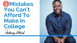 5 Mistakes You Can