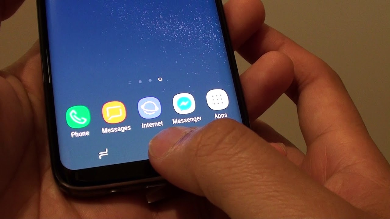 Samsung Galaxy S8: How to Enable / Disable Smart Alert