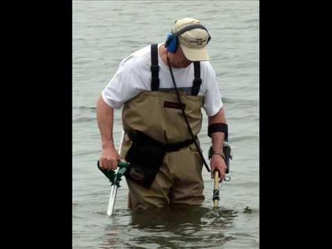 Beach Metal Detecting With The Tesoro Sand Shark