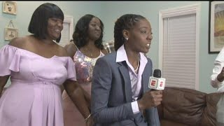 'Once-in-a-lifetime Moment': Ribault Grad Rennia Davis Drafted 9th Overall In WNBA Draft