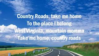 John Denver  Take Me Home Country Roads  The Ultimate Collection  with Lyrics MP4