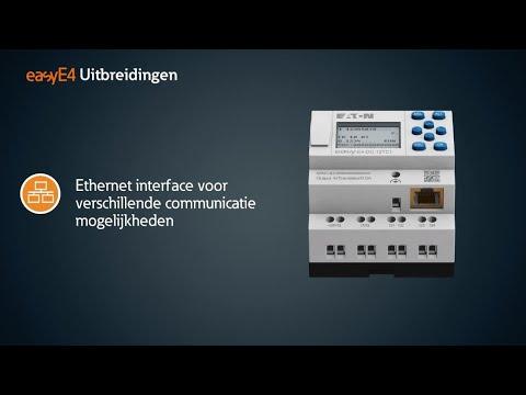 De easyE4 mini PLC - Eaton's nieuwste generatie programmeerbaar relais