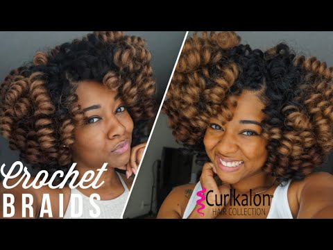 braided hair styles for natural hair easy looking crochet braids install style 2851 | hqdefault