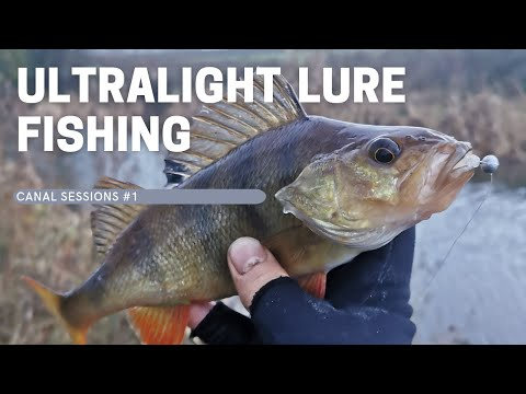 Ultralight Lure Fishing - Canal Sessions #1