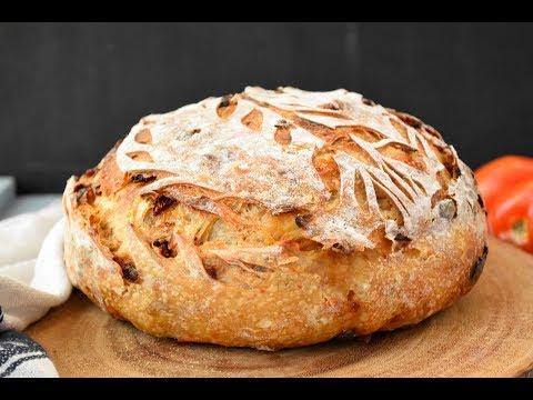 Sun Dried Tomato And Parmesan Sourdough Bread