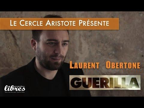 Laurent Obertone présente 'GUERILLA' au Cercle Aristote