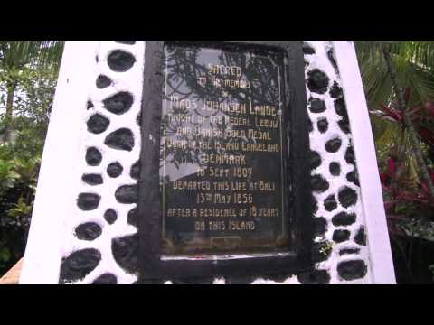 Besøg danskes Mads Langes grav på Bali