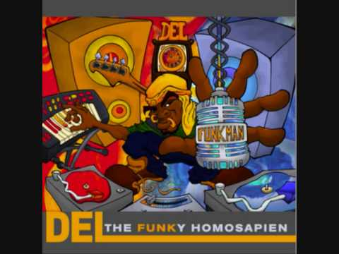 Del The Funky Homosapien - I'm Smellin Myself