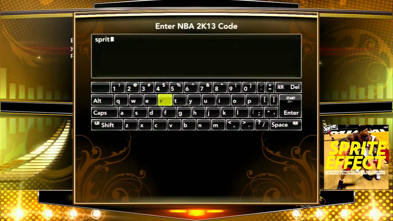 <b>NBA 2K13</b> - Sprite Effect <b>Cheat Code</b> - YouTube
