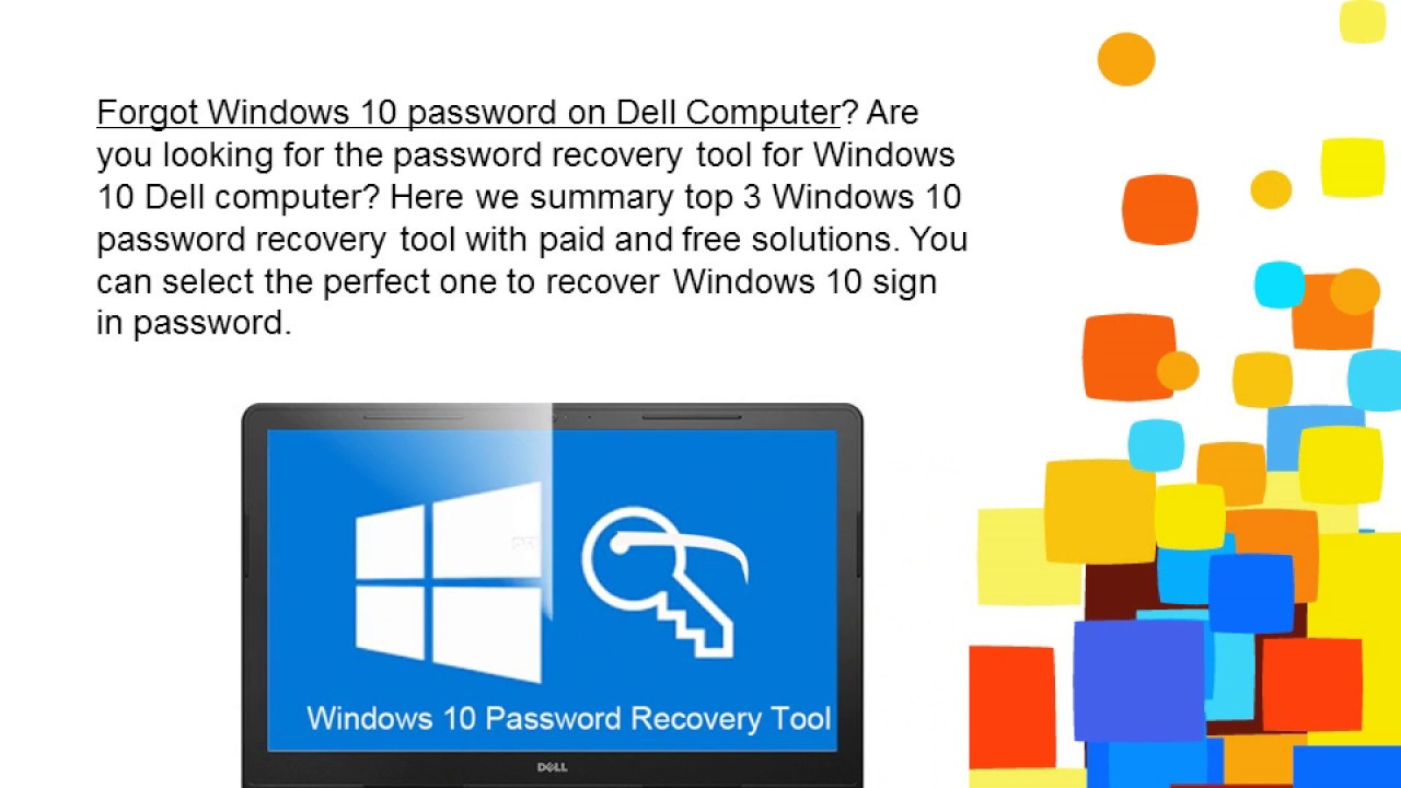 dell recovery tool for windows 10