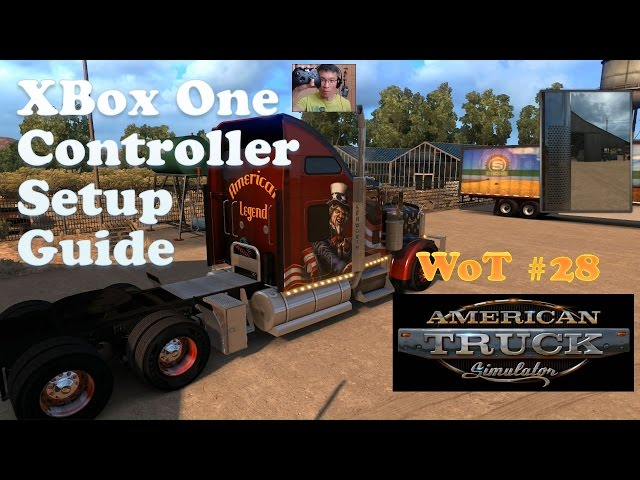 American Truck Simulator: XBox One Controller Setup Guide for Smooth Driving